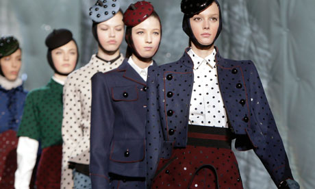 Marc Jacobs's New York fashion week