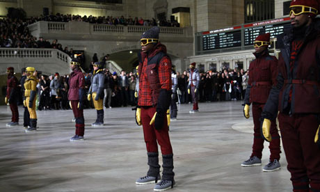 Moncler Grenoble at New York fashion week