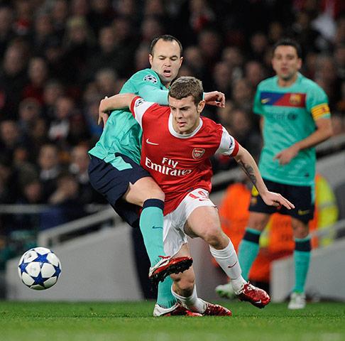 Arsenal-v-Barcelona