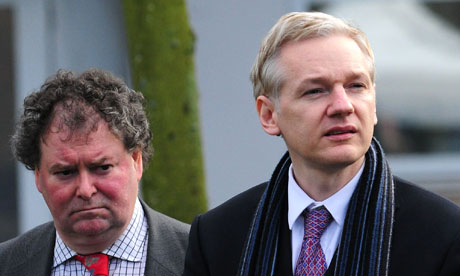 Julian Assange extradition hearing at Belmarsh Magistrates Court, London, Britain - 11 Feb 2011