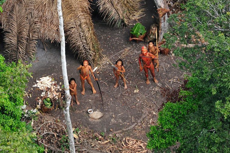 Outside looking in: the Amazon's isolated tribe | John