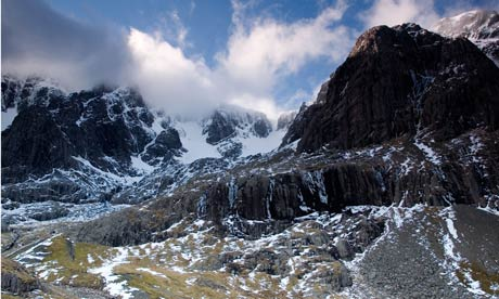 Ben Nevis North Face Cloud Snow. Image shot 2007. Exact date unknown.