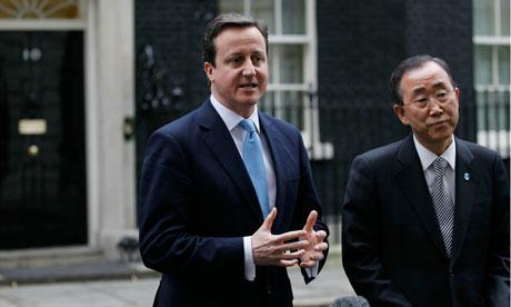 Ban Ki-moon, David Cameron