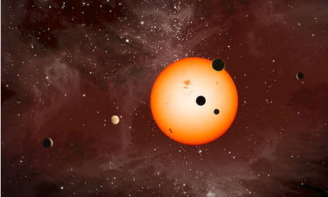 Nasa scientists discover new planetary systems