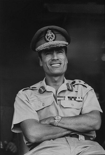 Muammar Gaddafi : 1971: Libyan leader Muammar Gaddafi