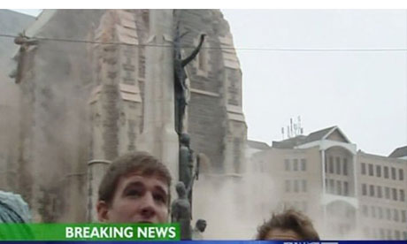 New Zealand earthquake cathedral