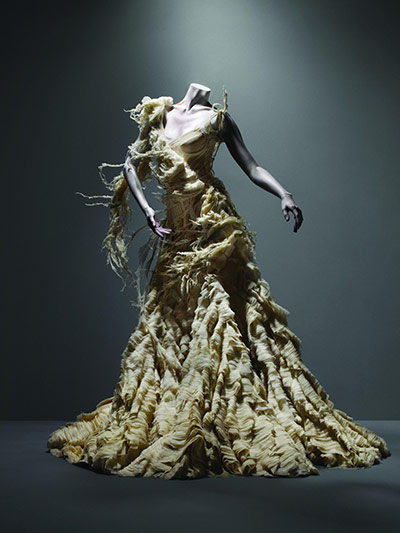 Alexander McQueen: Dress, Irere, spring/summer 2003