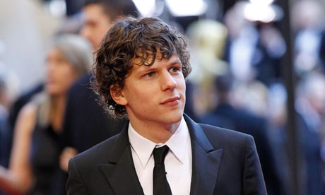 Jesse Eisenberg at the Oscars.