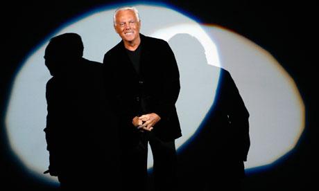 ... hails legends Tina Turner and Giorgio Armani | Fashion | The Guardian Giorgio Armani