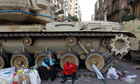Tank in Egypt