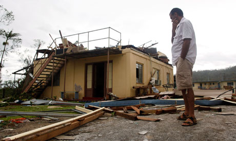 Cyclone Yasi destroyed houses across Queensland, including this one in the town of Tully