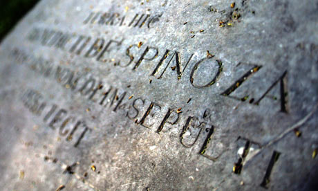 Spinoza memorial at the New Church in the Hague