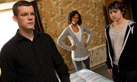 Being Human: Russell Tovey as George, Lenora Crichlow