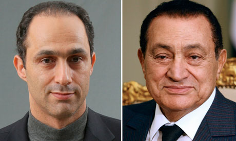 Gamal and Hosni Mubarak