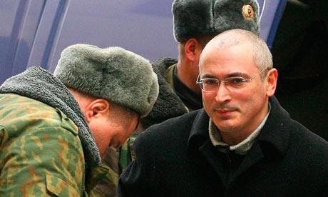 Russian tycoon Mikhail Khodorkovsky
