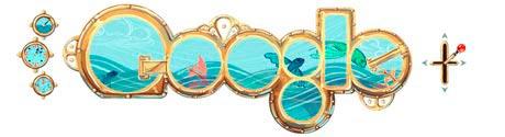 Jules Verne, Google doodle