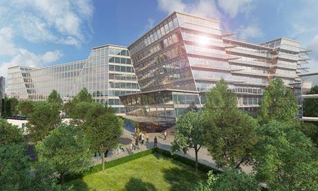 Artist's impression of new Royal Liverpool Hospital