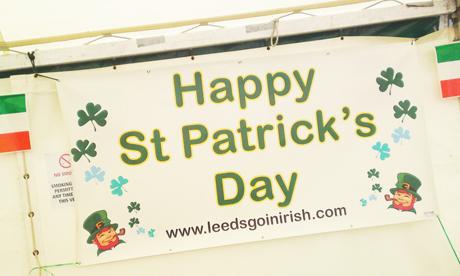 St patricks day parade leeds