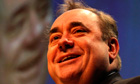 Scottish National party's Alec Salmond