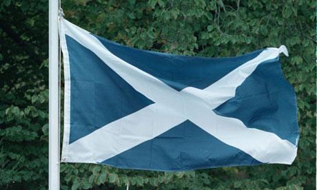 Scottish flag saltire