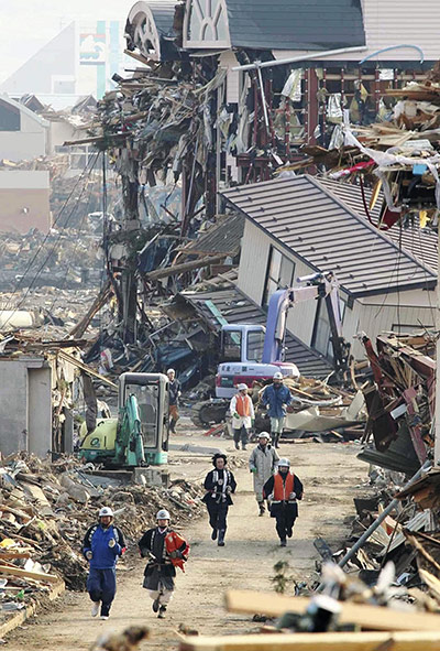 essay on japan earthquake 2011