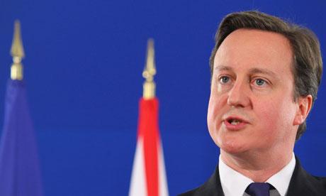 David Cameron, Libya