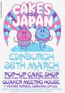 Cakes for Japan Edinburgh