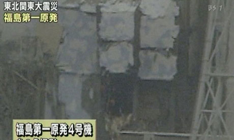 Japan reactor: damaged No. 4 unit