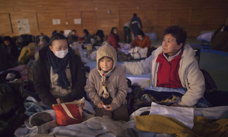 Homeless in Japan after quake and tsunami disaster