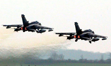 RAF fighter jets Libya no-fly zone