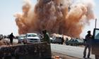 Gaddafi forces attack rebel checkpoint near Ras Lanuf