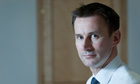 Jeremy Hunt, the Culture Secretary