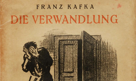 """symbolism in franz kafkas the metamorphosis In kafka's famous story the metamorphosis (1912), a man is turned into a giant cockroach in his own bed and the story unfolds as if this were perfectly plausible in the trial josef k is arrested and executed without having done anything """" wrong"""" yet everyone in the novel, including eventually k, takes this to be a natural if."""