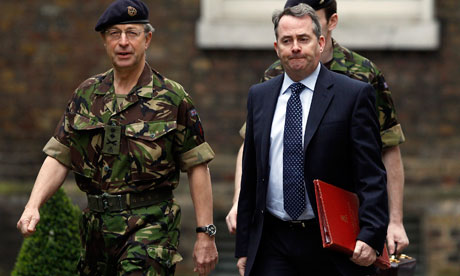 General David Richards and Liam Fox