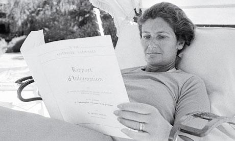 Simone Veil in 1974