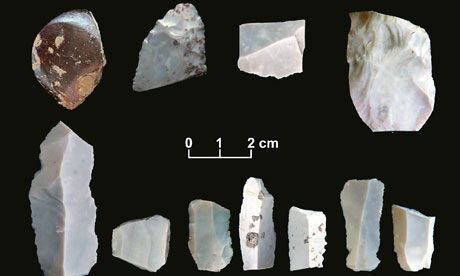 Stone tools thought to pre-date Clovis culture