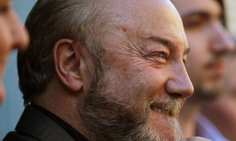 George Galloway holds a press conference to launch his campaign for the Scottish parliament