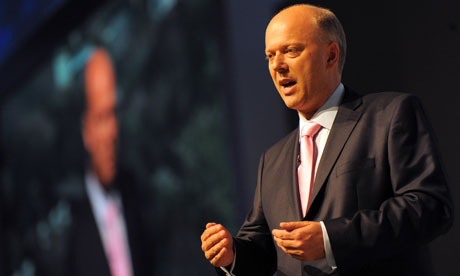Shadow Home Secretary, Chris Grayling sp