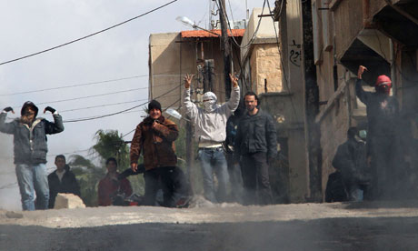 Anti-government protesters Syria