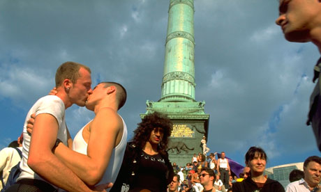 Gay couples in France say they do not get the same rights as they would in ...