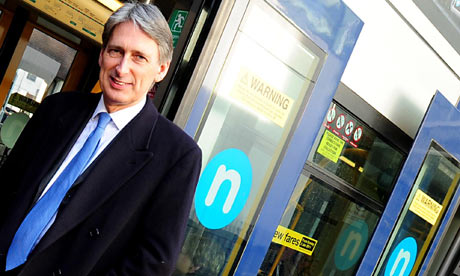 The transport secretary, Philip Hammond
