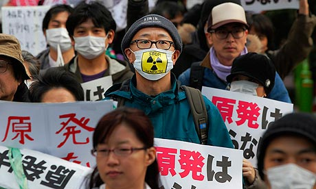 Nuclear power protest in Tokyo