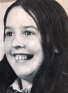 Majella O'Hare was 12 years old when she was shot twice in the back by a British army soldier in 1976. Photograph courtesy of Pacemaker.