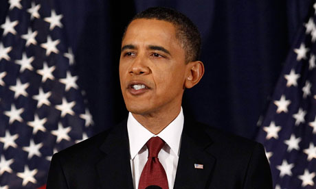 Barack Obama speaks on Libya
