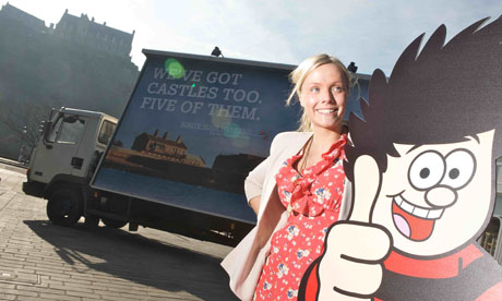 Cheeky? Dundee used Edinburgh to launch its latest tourism campaign