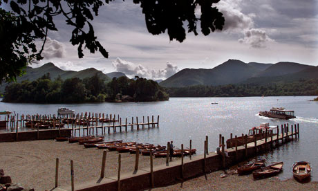 View from the Theatre by the Lake, Keswick