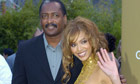 Happier times? Beyonce Knowles and her dad.