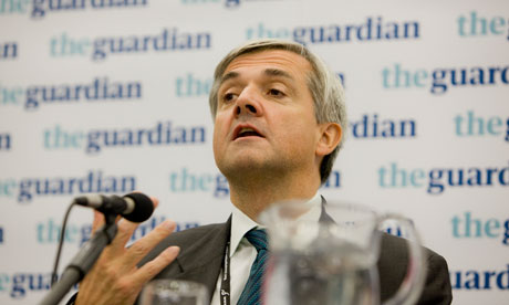 Chris Huhne. the energy secretary