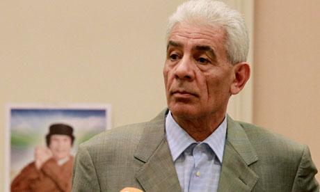 Libya foreign minister Mousa Kousa