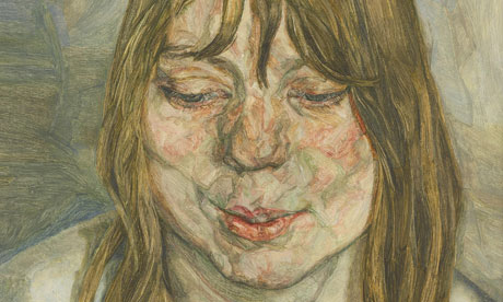 Lucian Freud's Woman Smiling